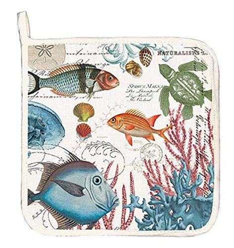Michel Design Works Cotton Potholder Sea Life