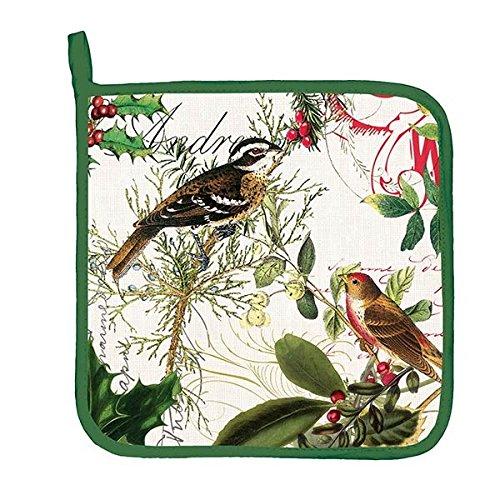 Michel Design Works Winters Tale Cotton Potholder Green