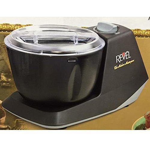 Revel CDM301 Atta Dough Mixer Maker Non Stick Bowl 3 L Black