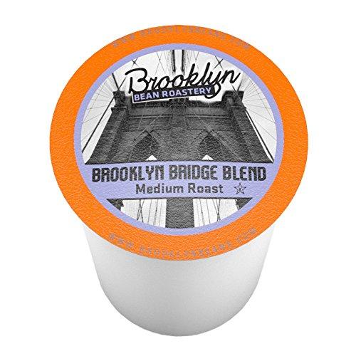 Brooklyn Beans Brooklyn Bridge Blend Single-Cup coffee for Keurig K-Cup Brewers 40 Count