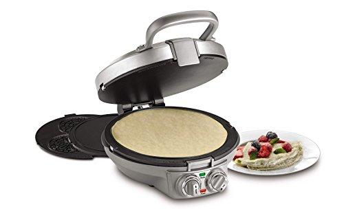 Cuisinart CPP-200 International Chef CrepePizzellePancake Plus Stainless Steel