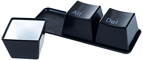 Chef Buddy 4-Piece Ctrl Alt Delete Hot and Cold Cup Set
