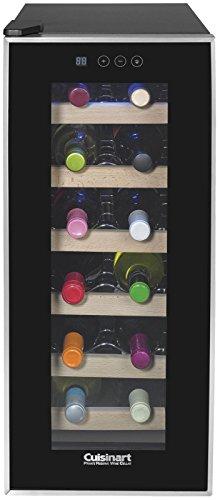 Cuisinart CWC-1200TS 12-bottle Private Reserve Wine Cellar Black