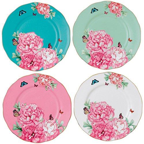 Royal Albert Friendship Accent Plate Designed by Miranda Kerr 8-Inch Set of 4