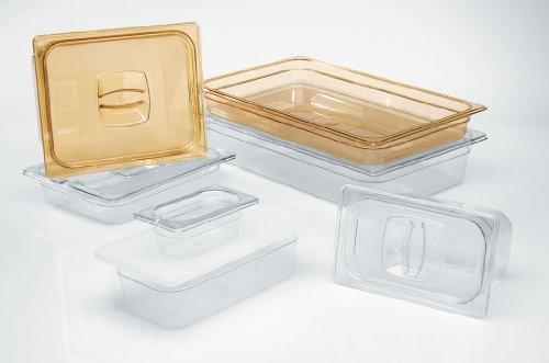 Rubbermaid Commercial Products FG111P00CLR 14 Size 2-12-Quart Cold Food Pan