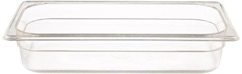 Rubbermaid Commercial Products FG116P00CLR 13 Size 2-58-Quart Cold Food Pan