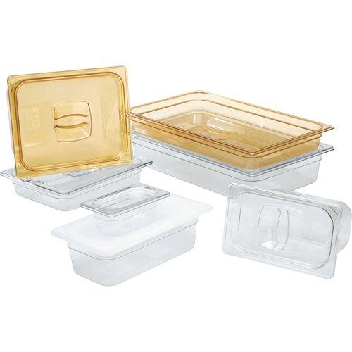 Rubbermaid Commercial Products FG140P00CLR 12 Size Long 5-12-Quart Cold Food Pan