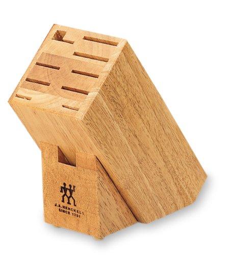 JA Henckels 10-Slot Hardwood Knife Storage Block