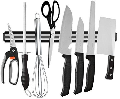 Ouddy 22 Inch Magnetic Knife Bar Magnetic Knife Storage Strip Magnetic Kitchen Knife Holder Knife Rack Strip