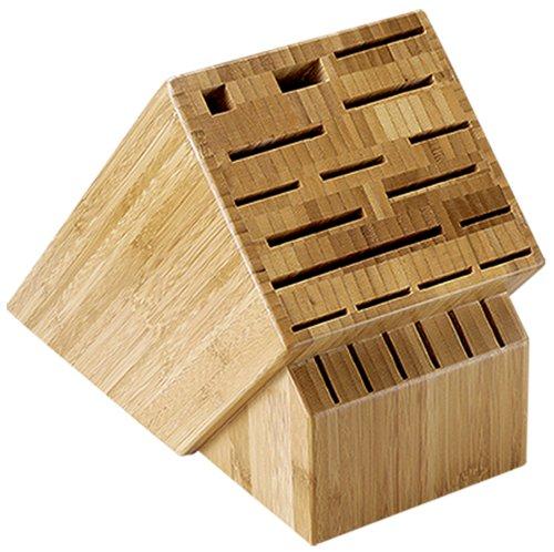 Shun 22-Slot Bamboo Knife Storage Block