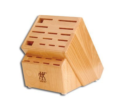Zwilling JA Henckels Extra Large 22 Slot Design Hardwood Knife Storage Block