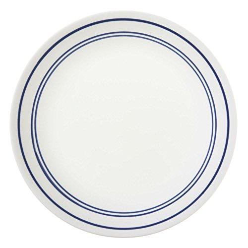 Corelle Livingware 8-12-Inch Luncheon Plate Classic Cafe Blue 6 Plates