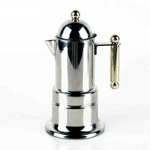 4 Cups200ml Stainless Steel Italian Express Stovetop Espresso Coffee Moka Pot Expresso Coffee Latte Maker