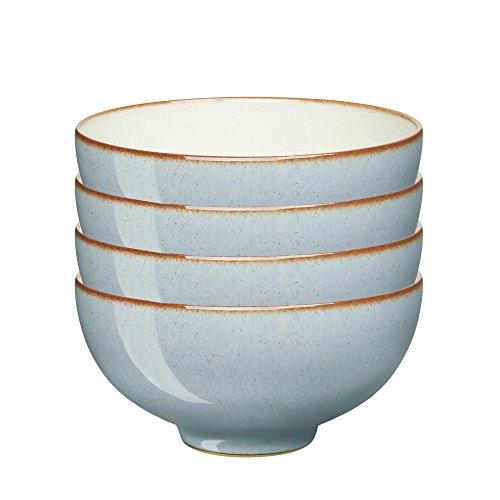 Denby USA Heritage Terrace Rice Bowls Set of 4 Multicolor
