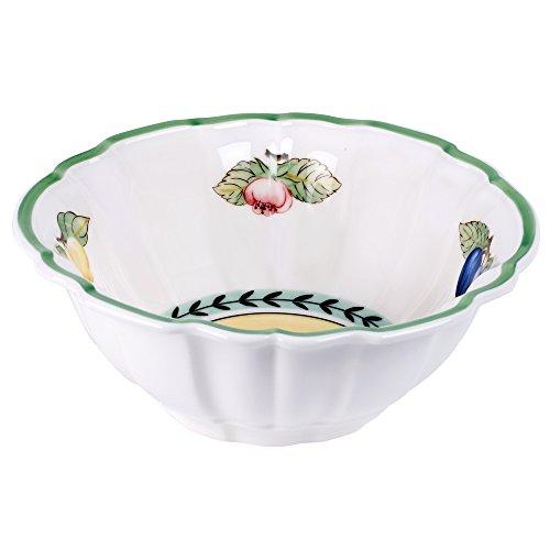Villeroy Boch French Garden Valance Fluted Rice Bowl  Set of 6
