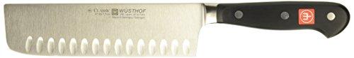 Wusthof Classic 7-Inch Nakiri Knife with Hollow Edge 419317