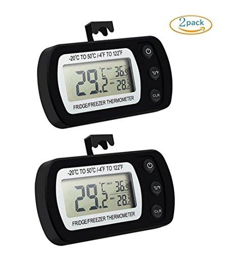 Refrigerator ThermometerKokome Waterproof Precision Digital Wireless Fridge Freezer Thermometer