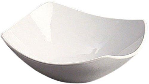 American Metalcraft SQND9 Prestige Ceramic 9 Squound Bowl White
