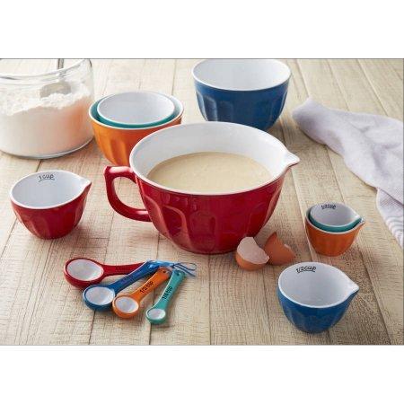 Mix and Measure Ceramic Bowl Set 12-Piece