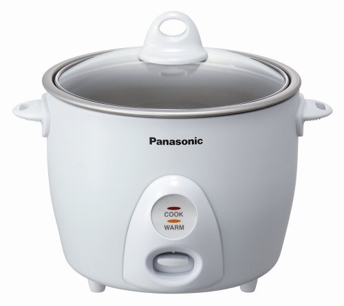 Panasonic SR-G10G 55-Cup Uncooked Automatic Rice Cooker White