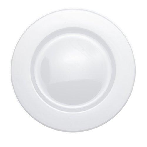 6-Piece DinnerSoupDessert Plates Set White Porcelain Restaurant&Hotel Quality 106 Dinner Plates