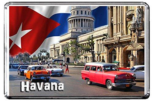 C291 HAVANA CUBA FRIDGE MAGNET CUBA TRAVEL VINTAGE REFRIGERATOR MAGNET
