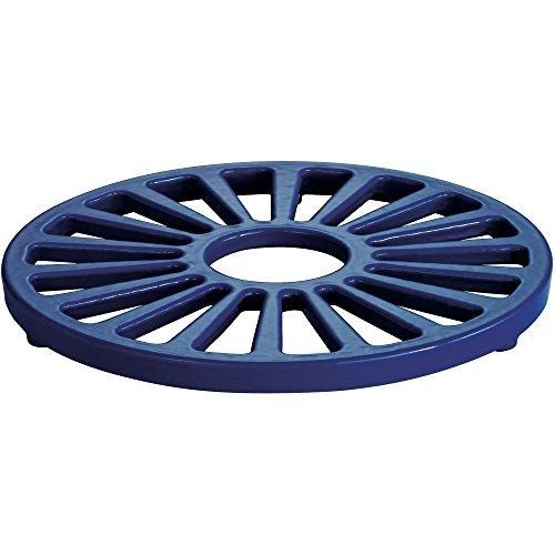 Tramontina Enameled Cast Iron Round Trivet 7-Inch Gradated Cobalt