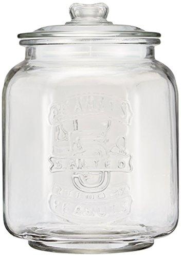 Glass cookie jar CH00-H05 japan import