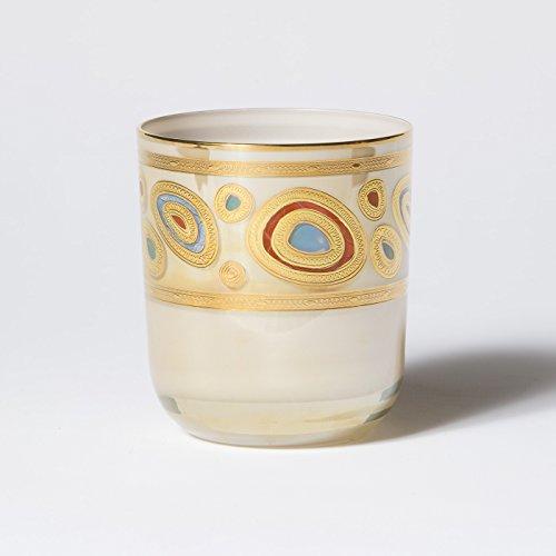 Vietri REGALIA Double Old Fashioned Glass CREAM