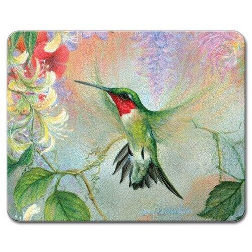 Highland Graphics Hummingbird Tempered Glass Cutting Board 10 X 8