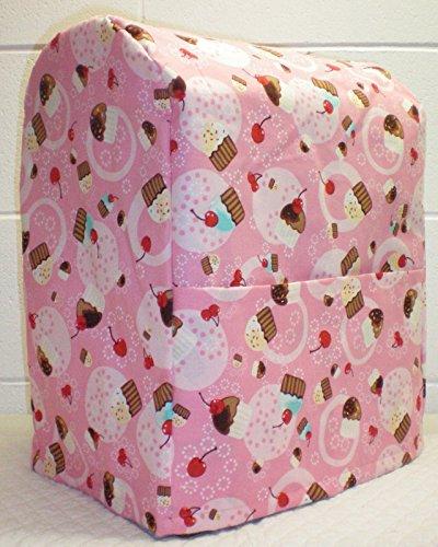 Cupcake Kitchenaid Lift Bowl Stand Mixer Cover All Pink Cupcake