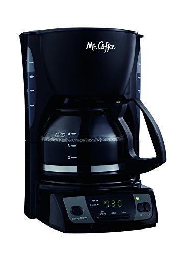 Mr Coffee Simple Brew 5-Cup Programmable Coffee Maker Black