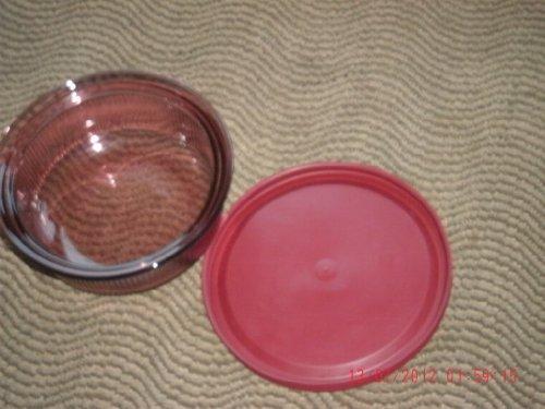Corning Cranberry Vision Covered Baking Dish V-16-PC