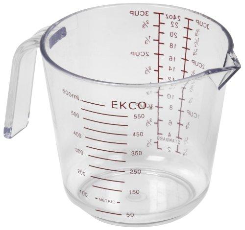 Ekco 1094899 3 Cup Plastic Measuring Cup