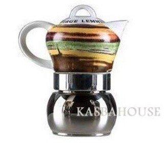 Stovetop Arte Lemmen espresso Coffee Pot By Vev Vigano 4 cups