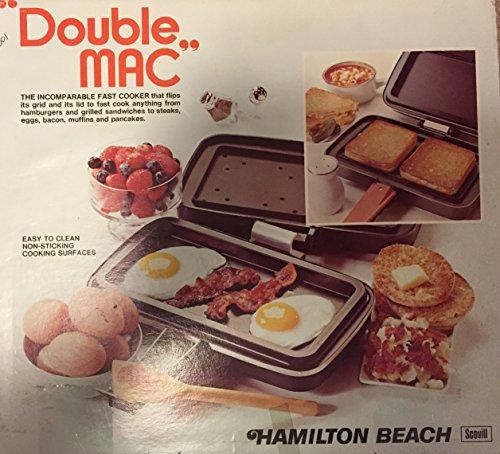 Hamilton Beach Double Mac indoor Electric Grill Cooker
