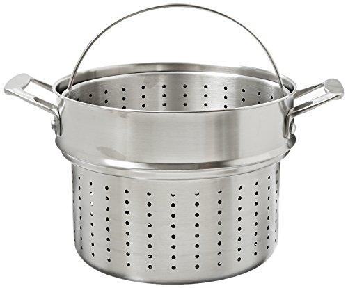 Kitchenaid Kch280pist 18/10 Stainless Steel Pasta And Steamer Insert Set Cookware - Stainless Steel