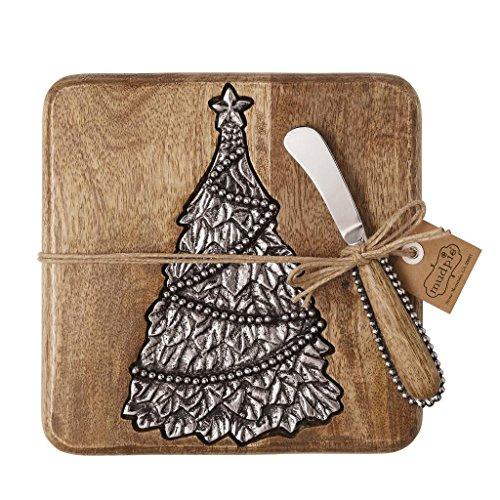 Mud Pie Holly Tree Cutting Board Small