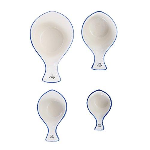 Pfaltzgraff Starburst Ceramic Measuring Cups Set of 4