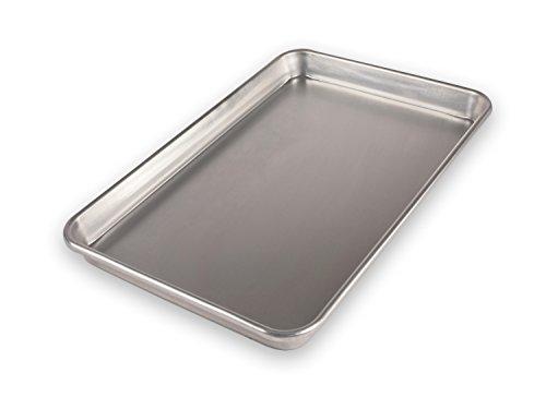 USA Pan Bare Aluminum Bakeware 1040JR-BB Jelly Roll Baking Pan Warp-Resistant Rust-Proof Bakeware