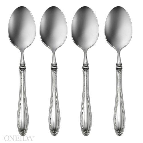 Oneida Sheraton Fine Flatware Set 1810 Stainless Set of 4 Dinner Spoons