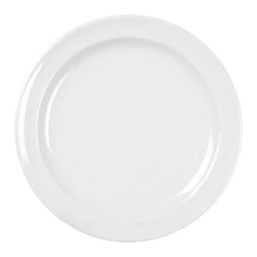 Excellante 12-Piece Dinner Plate 8-Inch White