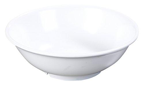 Carlisle 4373802 Melamine Footed Serving Bowl 36 oz White