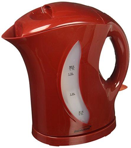 Brentwood KT-1619 17-Liter Cordless Tea Kettle Red