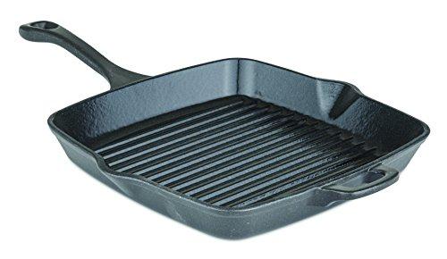 Viking Enamel Cast Iron Square Grill Pan 11 Inch