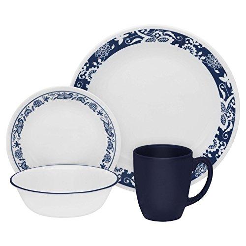 Corelle Livingware True Blue 16-pc Dinnerware Set