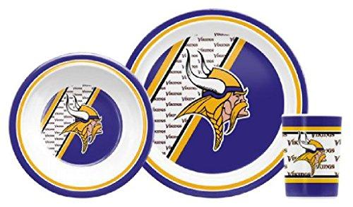 NFL Minnesota Vikings Childrens Dinner Set