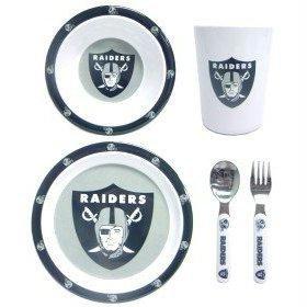 NFL Oakland Raiders Childrens Dinner Set