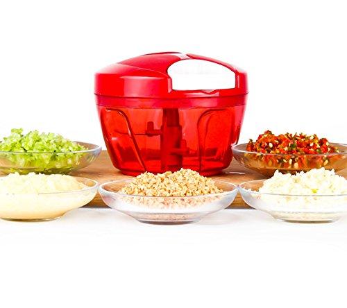 Tenta Kitchen 19-Cup485ml Food ChopperMeat GrinderVegetable SlicerShredderGrinder