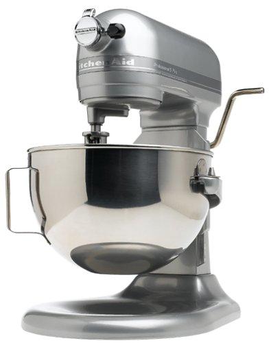 Kitchenaid Kv25goxmc Professional 5 Plus 5-quart Stand Mixer, Metallic Chrome